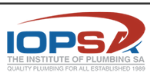 Registered Plumber - IOPSA Logo