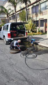 Plumber Port Elizabeth - High Pressure Cleaner